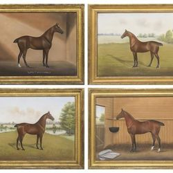 There's something missing about these Dan W. Smith paintings. It'll be tailing us all day...