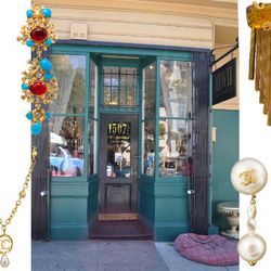 MDVII Antiques, at 1507 1/2 Vallejo Street, is one of SF's hidden gems (no pun intended). At first glance, the store looks cluttered and overwhelming. But a little digging will reveal a huge selection of vintage, designer jewels. There's always a great se