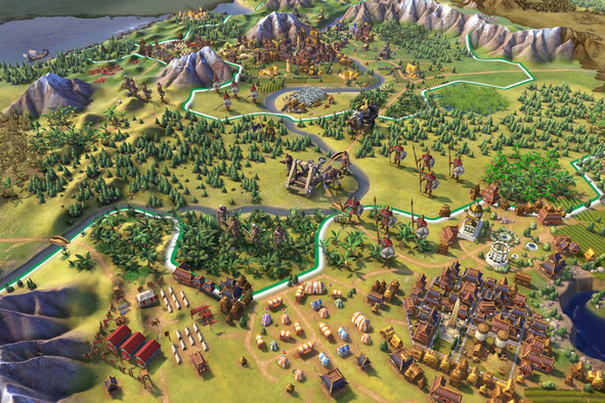 Civilization 6 on iPad is a marvel - Polygon on