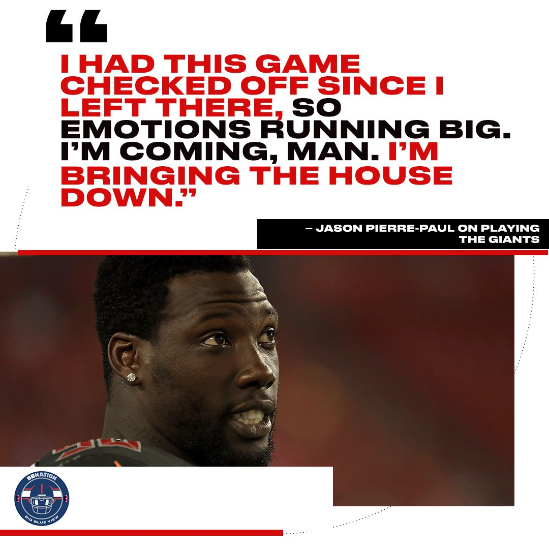 Jason Pierre Paul Bucs: Giants-Buccaneers: 5 Things To Watch As Giants Aim For