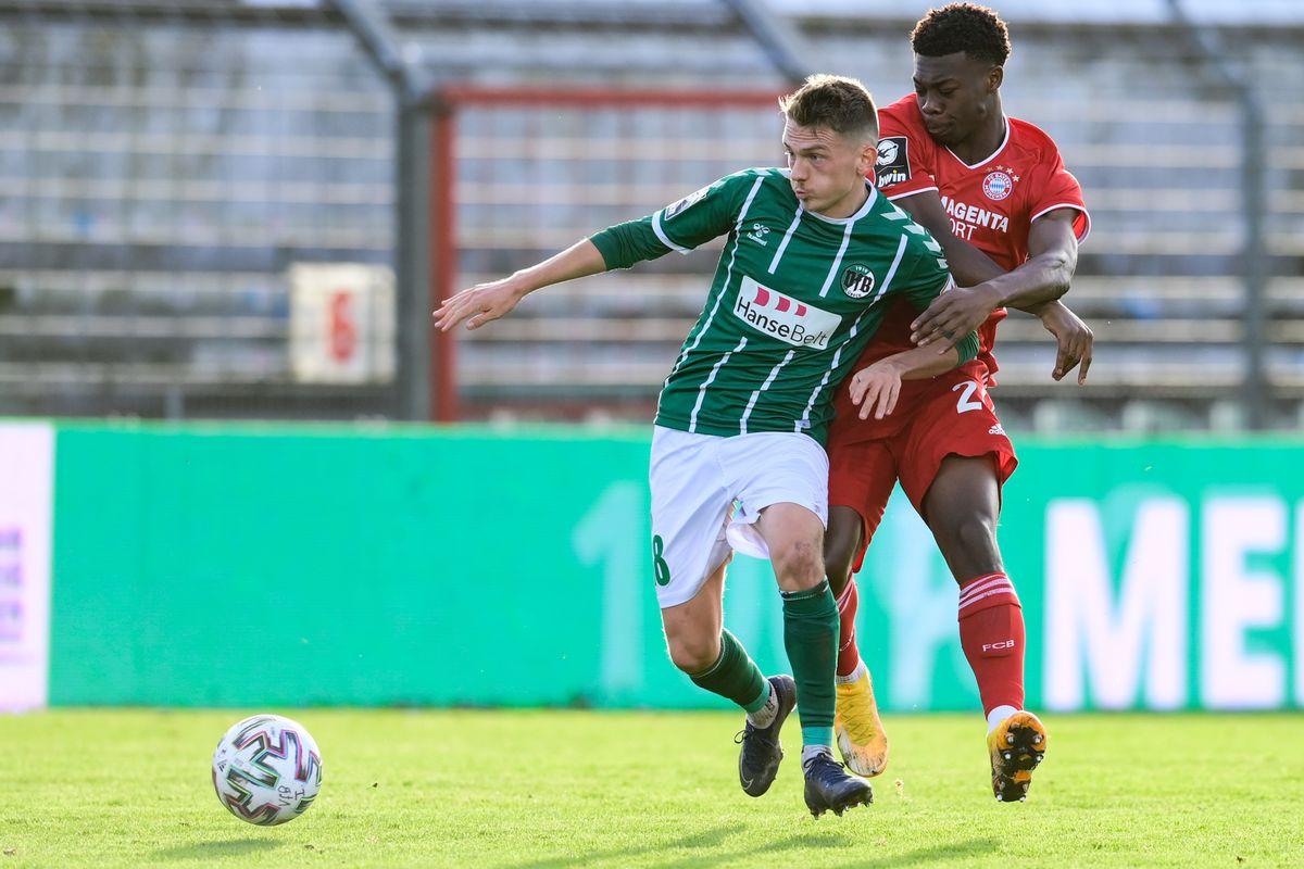 VfB Luebeck v Bayern Muenchen II - 3. Liga