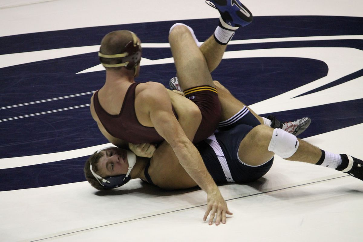 David Taylor wrestled his way to the Outstanding Wrestling award in the Southern Scuffle.