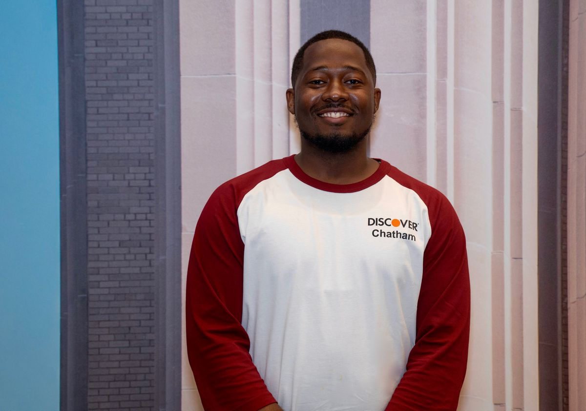 For Aaron Curtis, getting a job as a coach at the newly opened Discover call center in Chatham chopped his one-hour work commute to 10 minutes, meaning more time for the 30-year-old Chatham father to spend with his 9-year-old son and 2-year-old daughter, whom he rarely saw, while commuting to a downtown job the past 3 1⁄2 years.