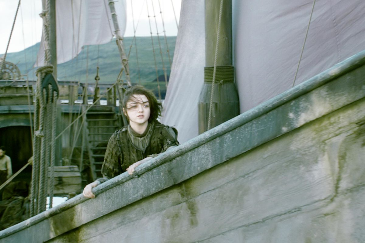 Ah, for the days when Arya (Maisie Williams) was setting out for parts unknown!