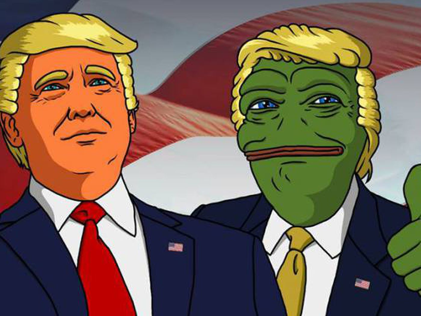 how pepe the frog and dilbert explain the culture wars of the 2016