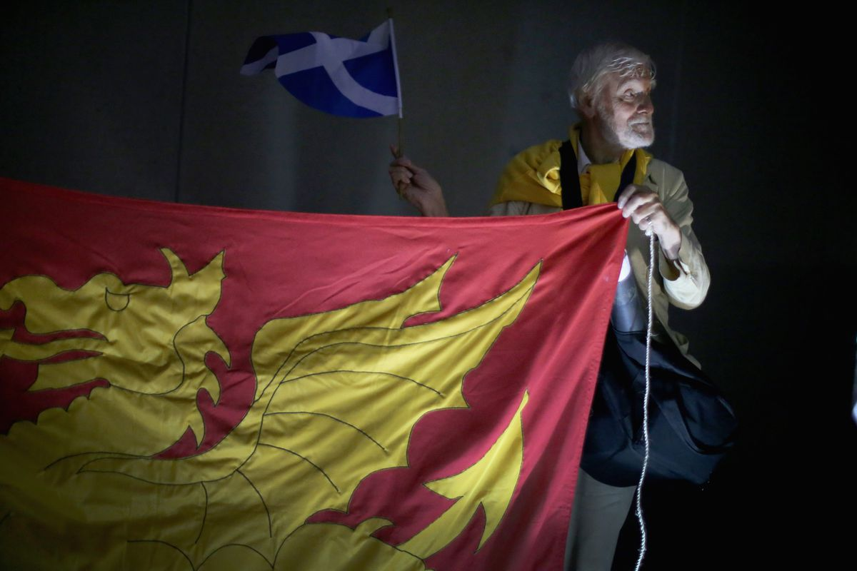 A supporter of Scottish independence.
