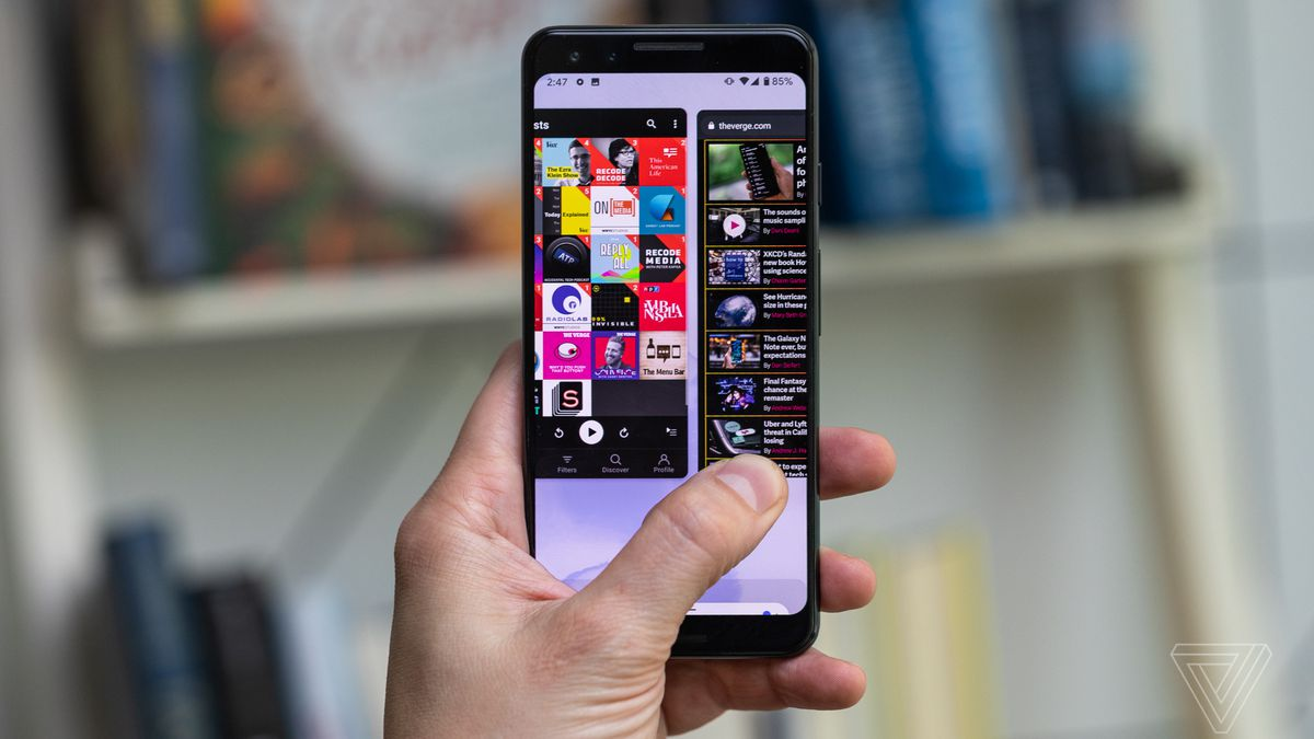 Android 10 Review New Gestures Dark Theme And Privacy