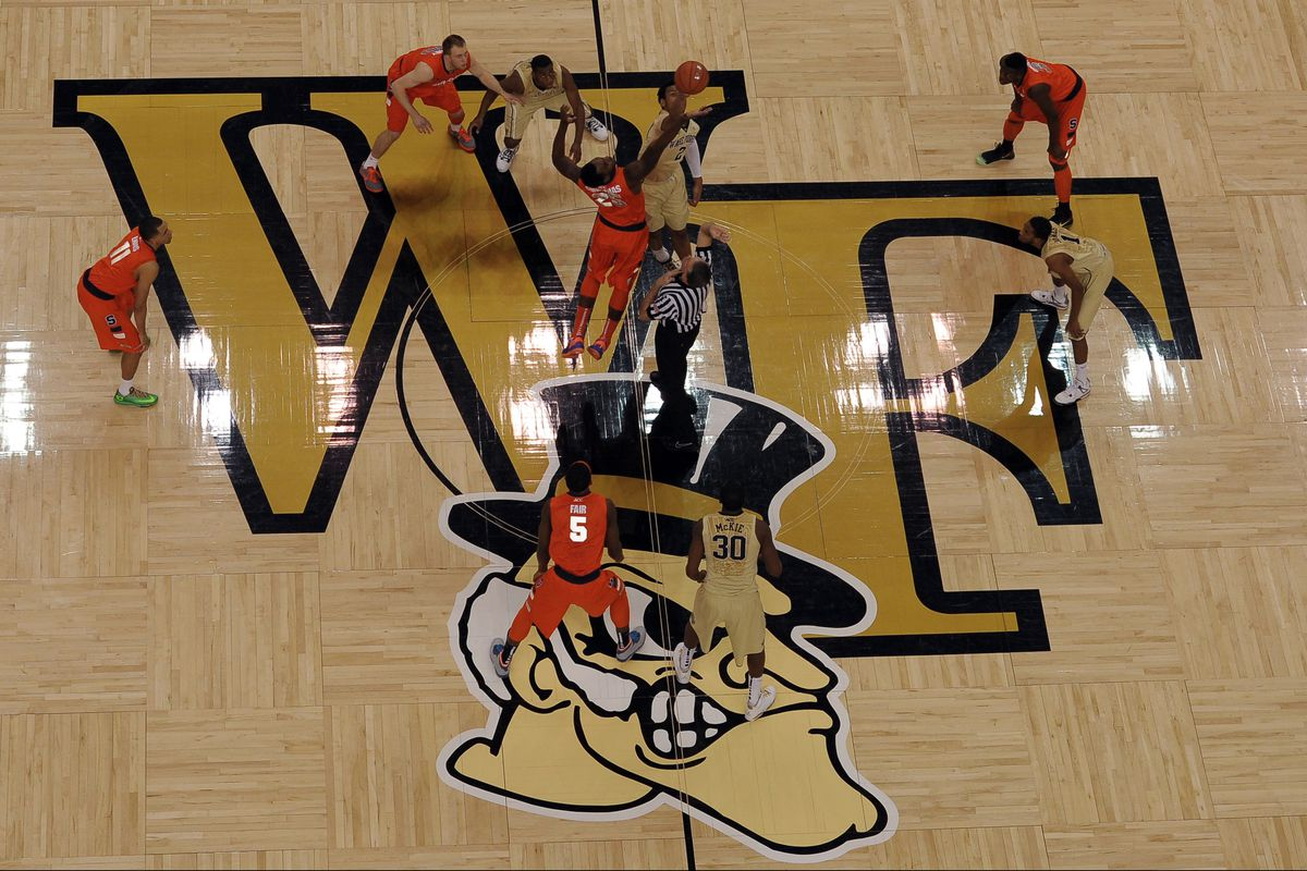 Wake Forest and Syracuse tip off at Joel Coliseum