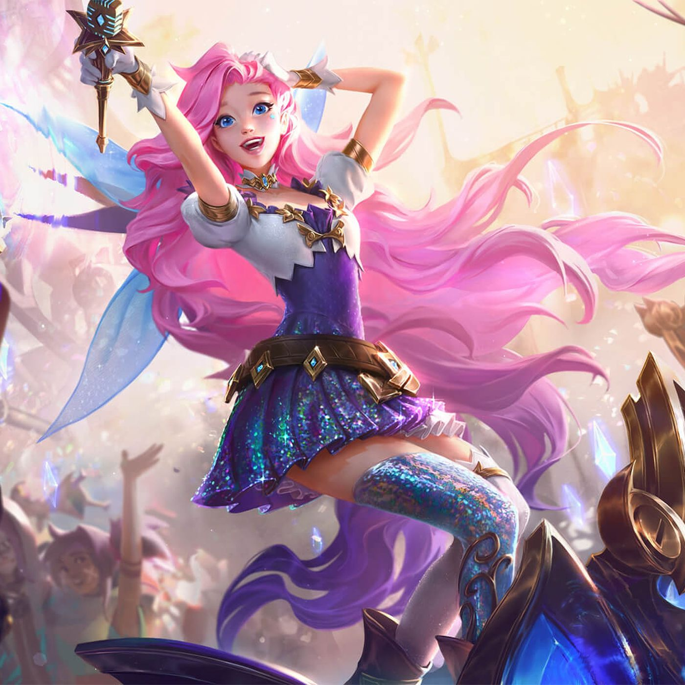 Seraphine League Of Legends Latest Champion Is A Colorful Pop Star The Verge