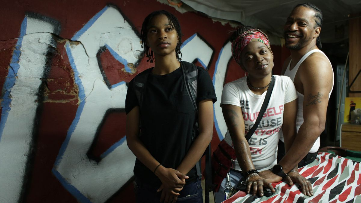 """PJ Rainey, Christine'a """"Ma Quest"""" Rainey and Christopher """"Quest"""" Rainey, appear inQuestdirected by Jonathan Olshefski, an official selection of the U.S. Dramatic Competition at the 2017 Sundance Film Festival."""