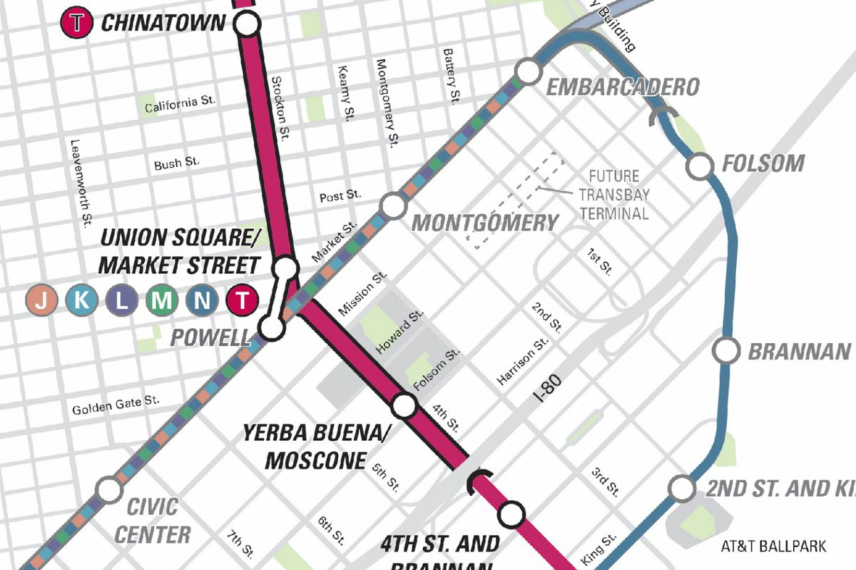 The Central Subway: San Francisco's new line to Chinatown   Curbed SF