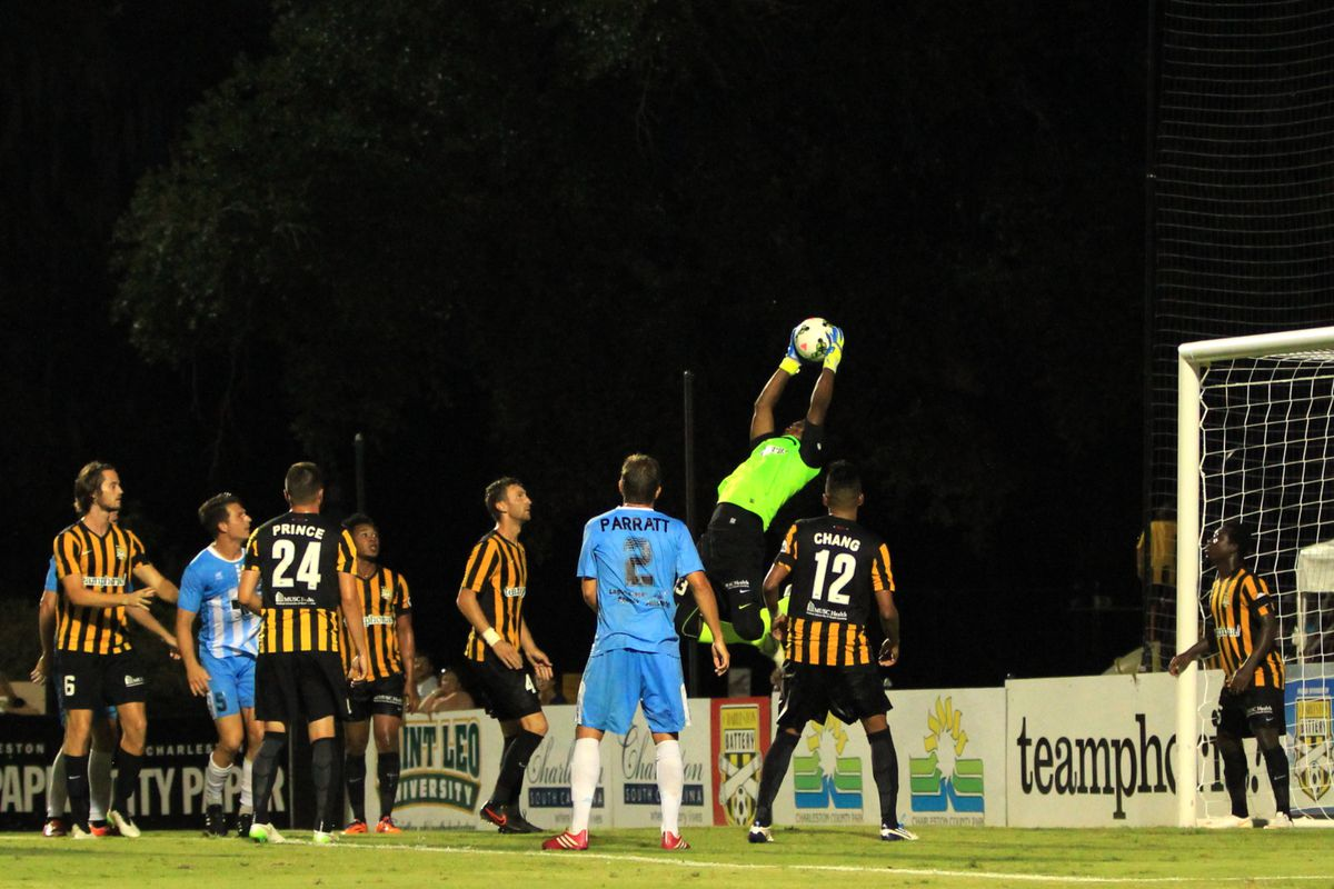 One of many leaping saves in 2015 for El Gato