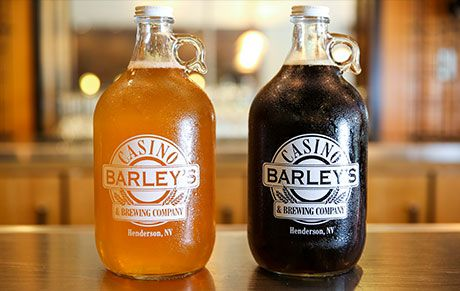 """Two beers from <span data-author=""""-1"""">Barley's Casino &amp; Brewing&nbsp;Co. </span>"""