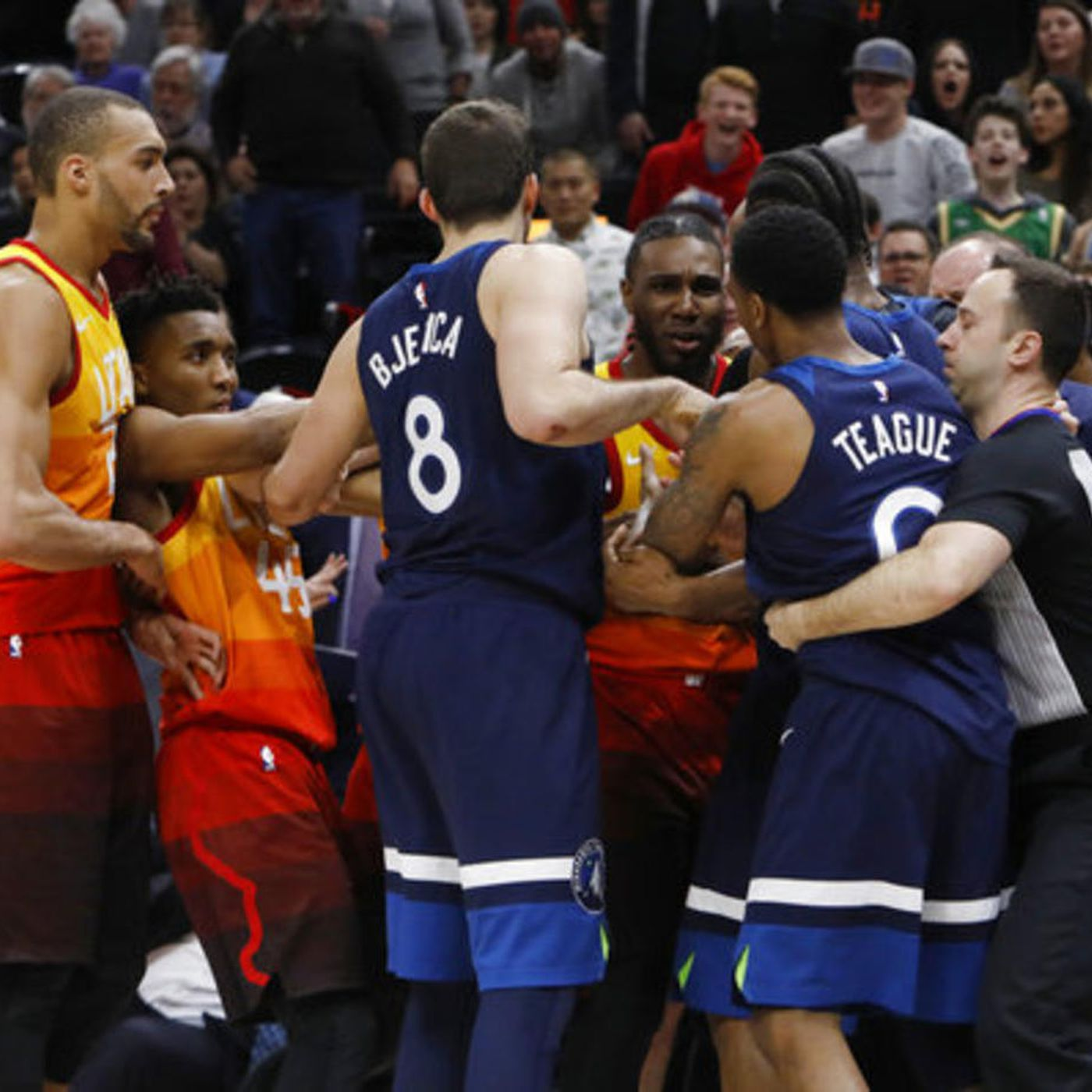 Utah Jazz's Jae Crowder says 'Twitter beef' with T-Wolves