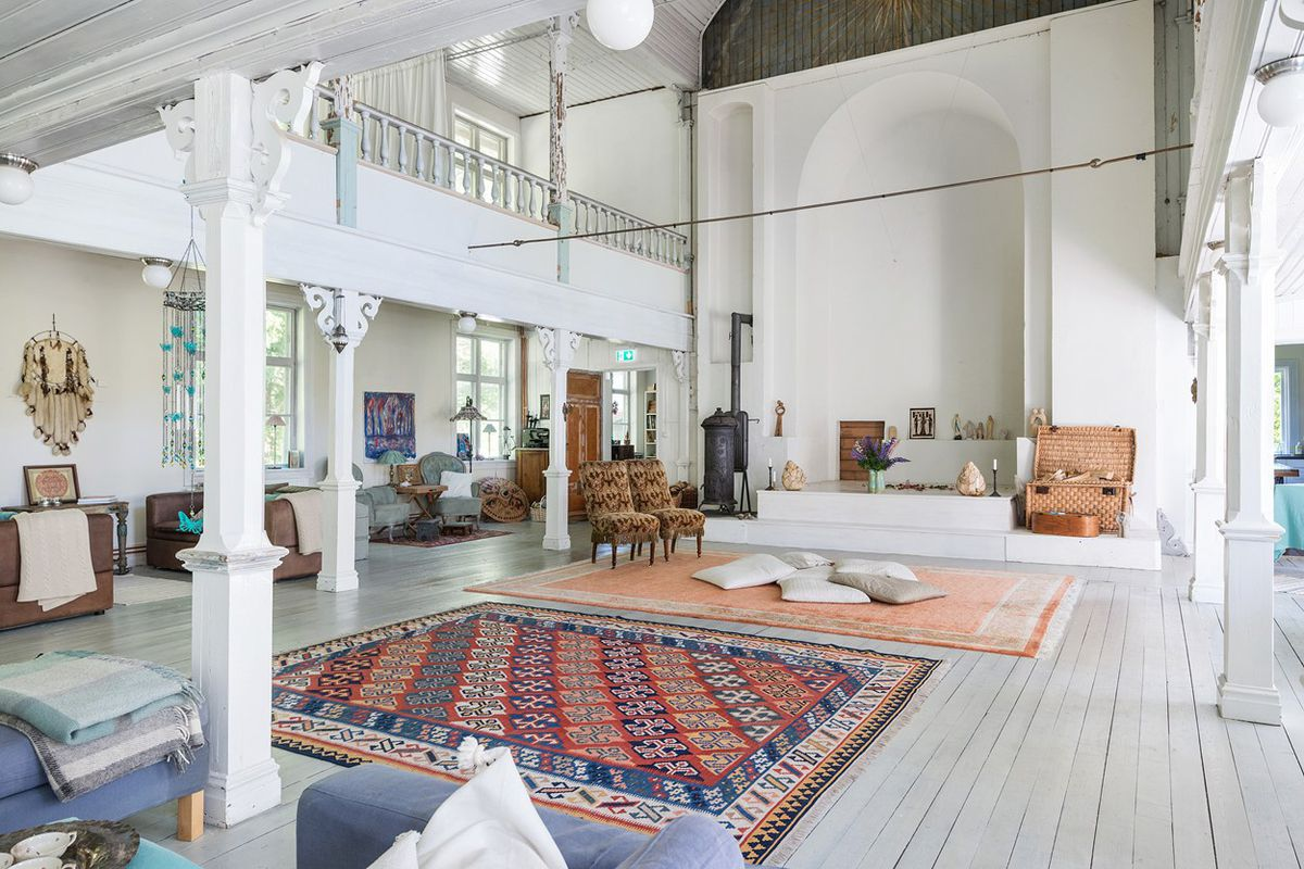 Heavenly church conversion in Sweden can be yours if the price is ...