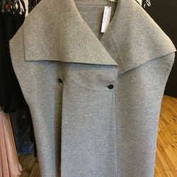 Tome Wool Cape, $595
