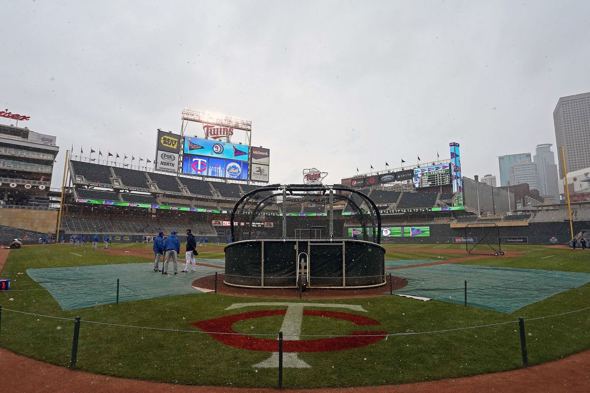 This is what is stopping the Marlins from playing tonight against the Minnesota Twins. Well, more of this, certainly.