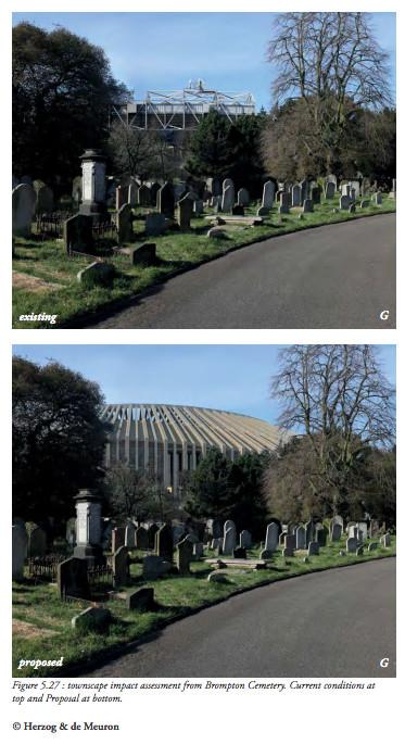 chelsea stadium brompton cemetery