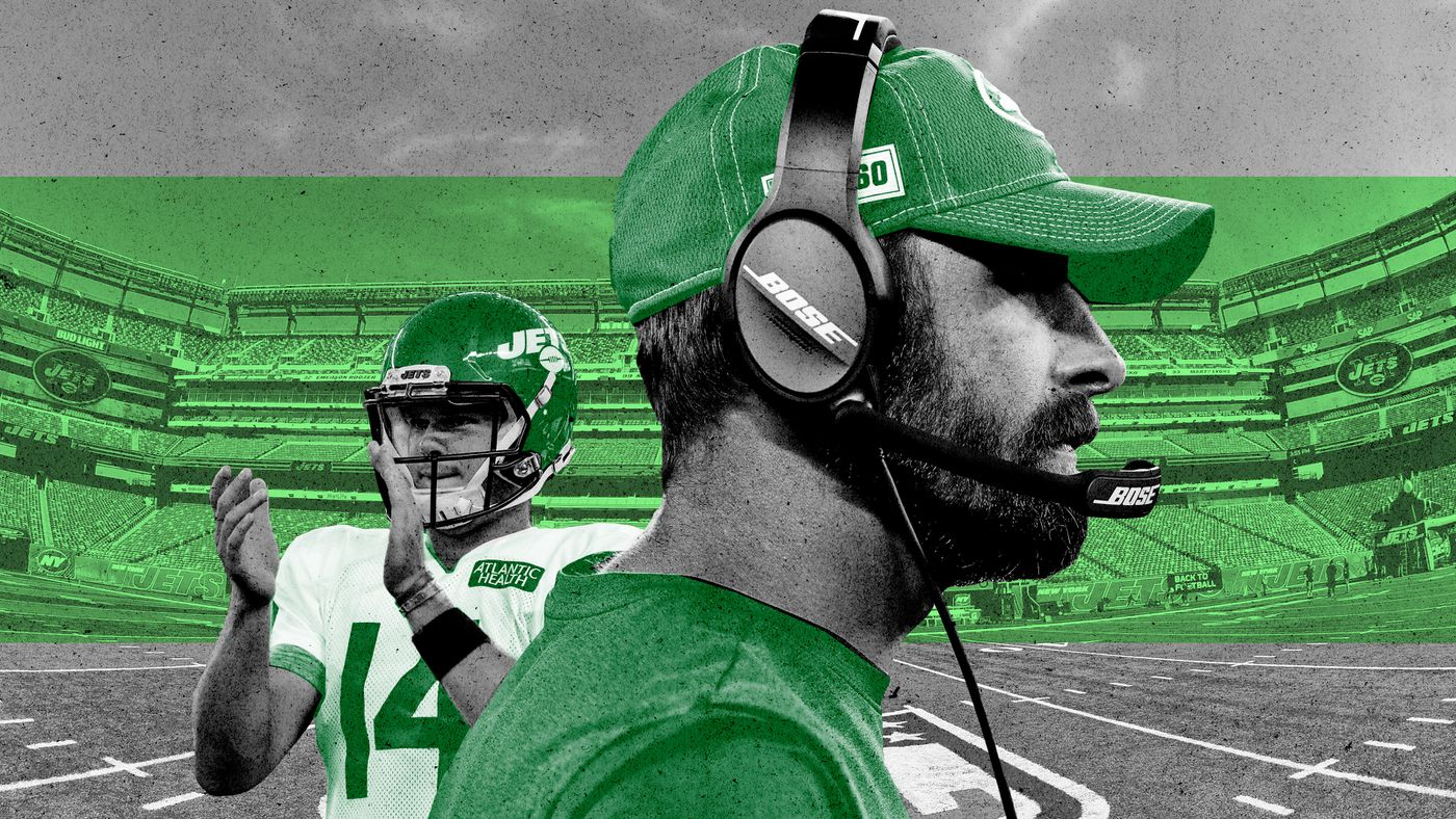 Adam Gase Is Armed With a Quarterback of the Future. He's Also Carrying the Weight of the Jets' Past.