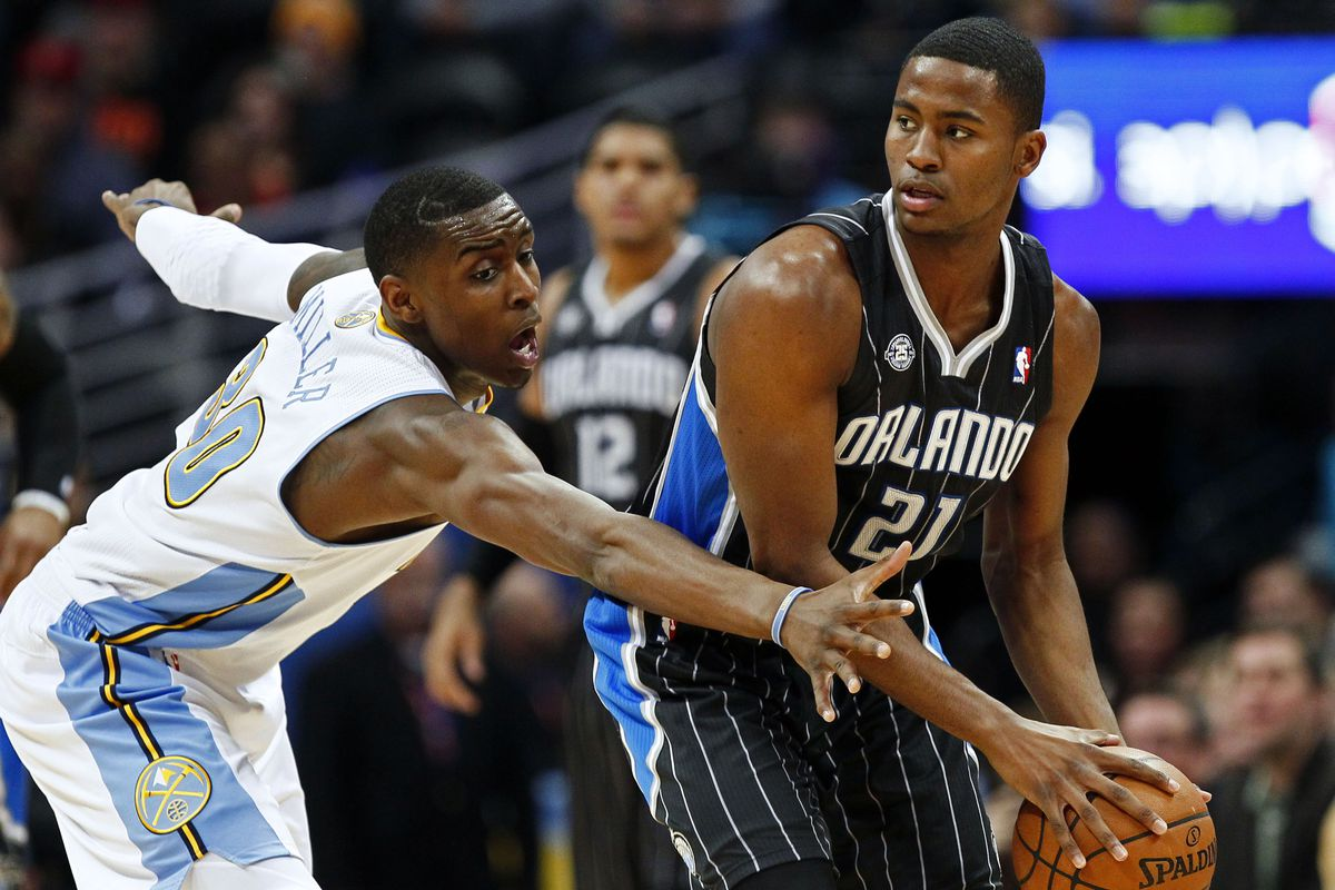 Quincy Miller and Maurice Harkless