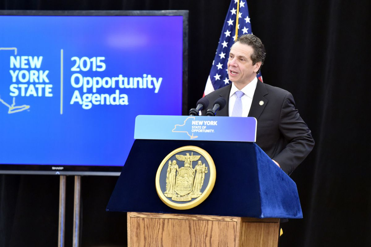 Gov. Andrew Cuomo announced plans to push for a broad overhaul of state education policy in January.