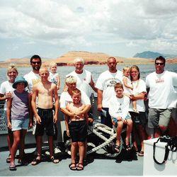 Whittingham family trip to Lake Powell