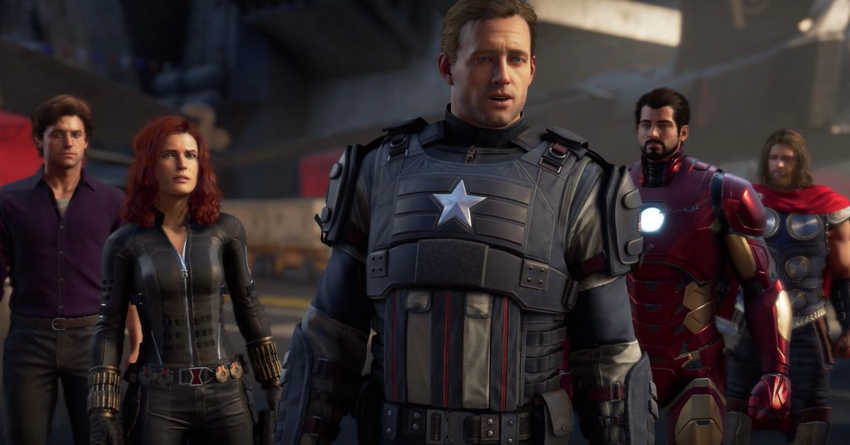 Why The Avengers video game has the same superheroes as the movie