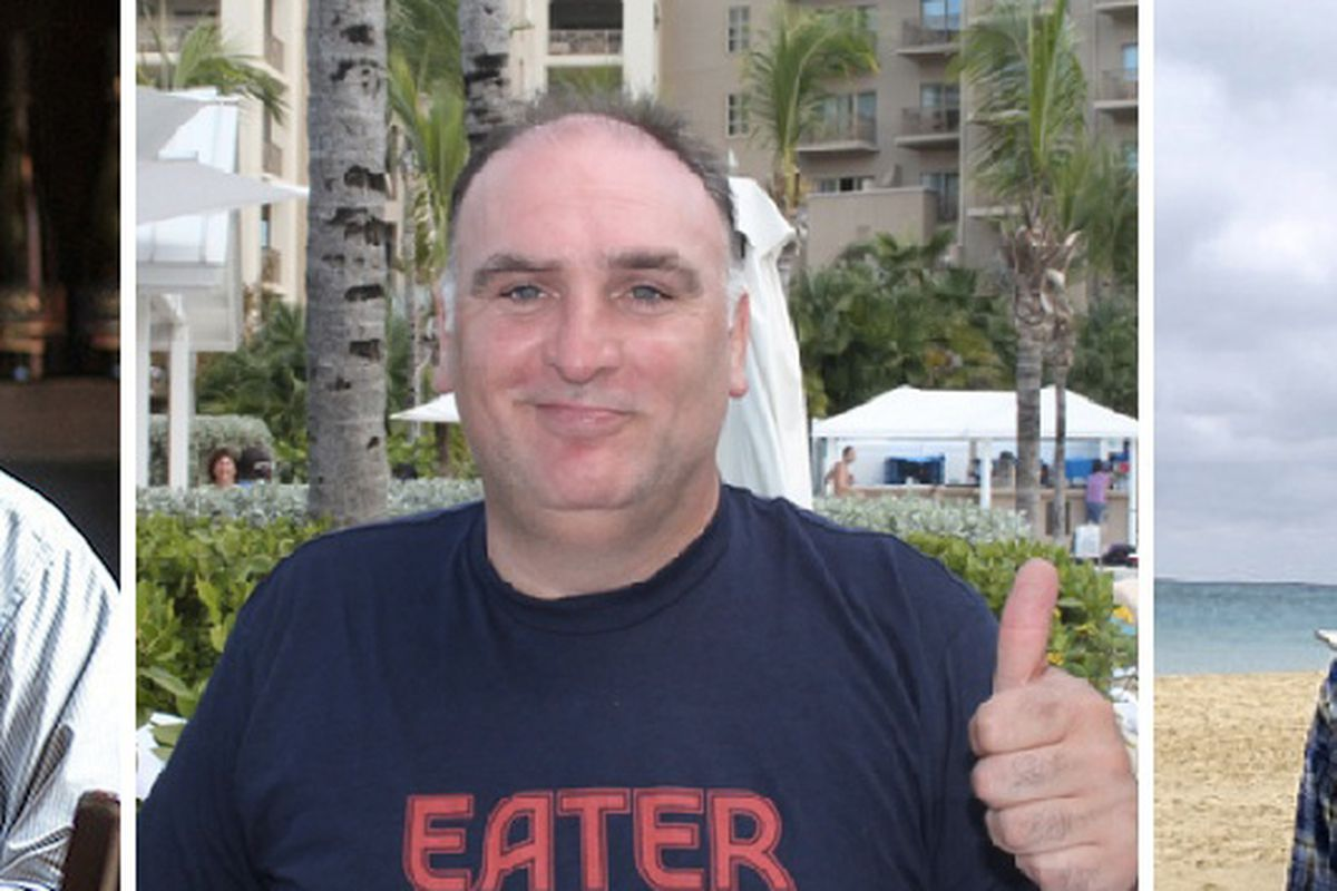 José Andrés\' World Central Kitchen Partners with Bourdain, Batali ...