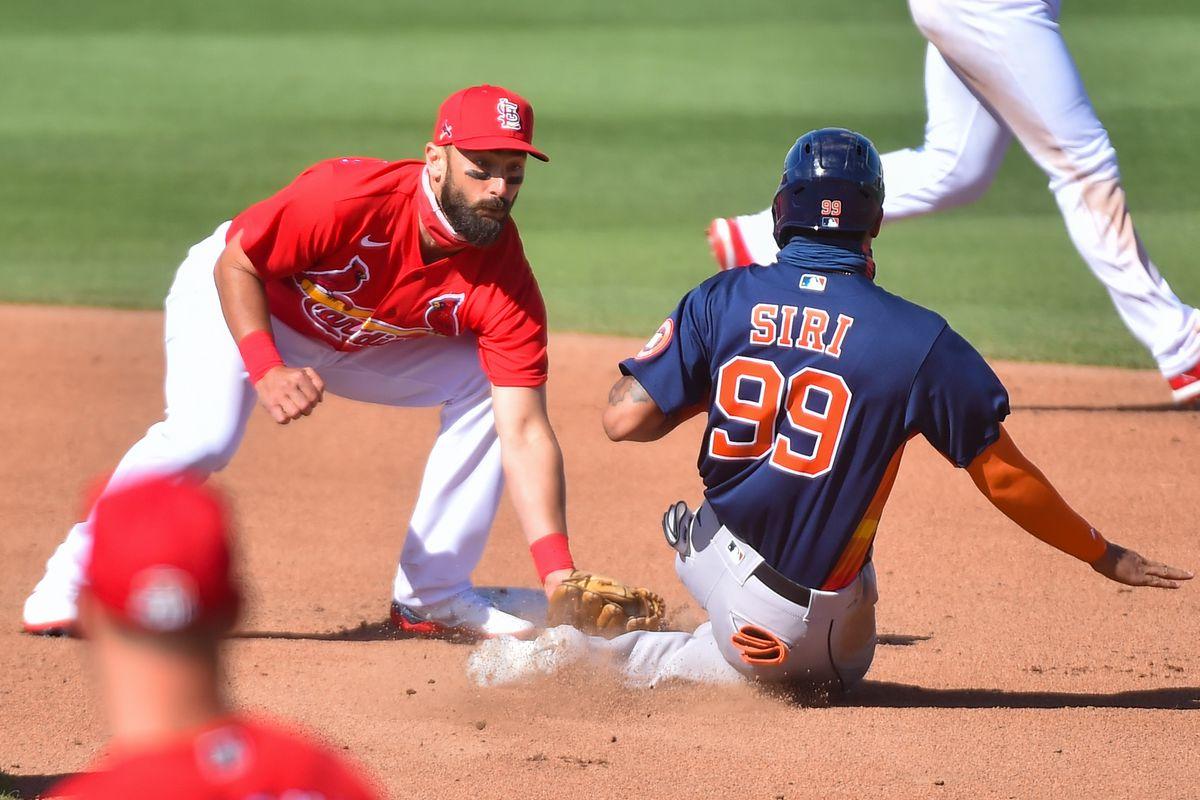 Houston Astros v St. Louis Cardinals
