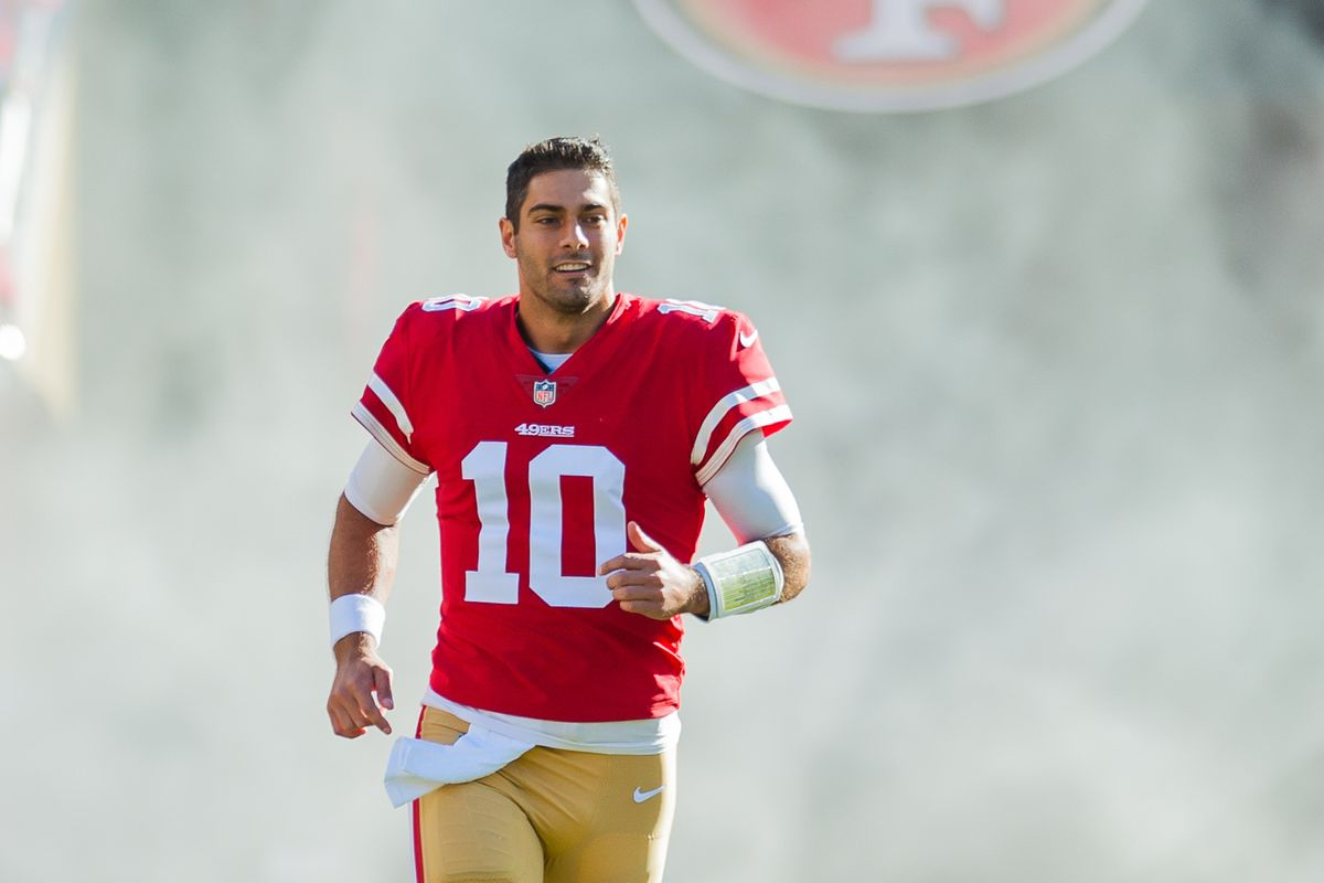 sports shoes bcce0 d3b4c Golden Nuggets: The 49ers take care of business - Niners Nation
