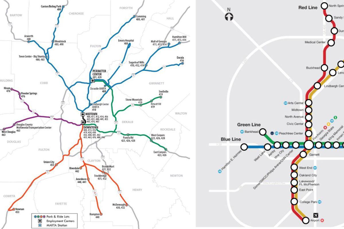 MARTA GRTA Maps