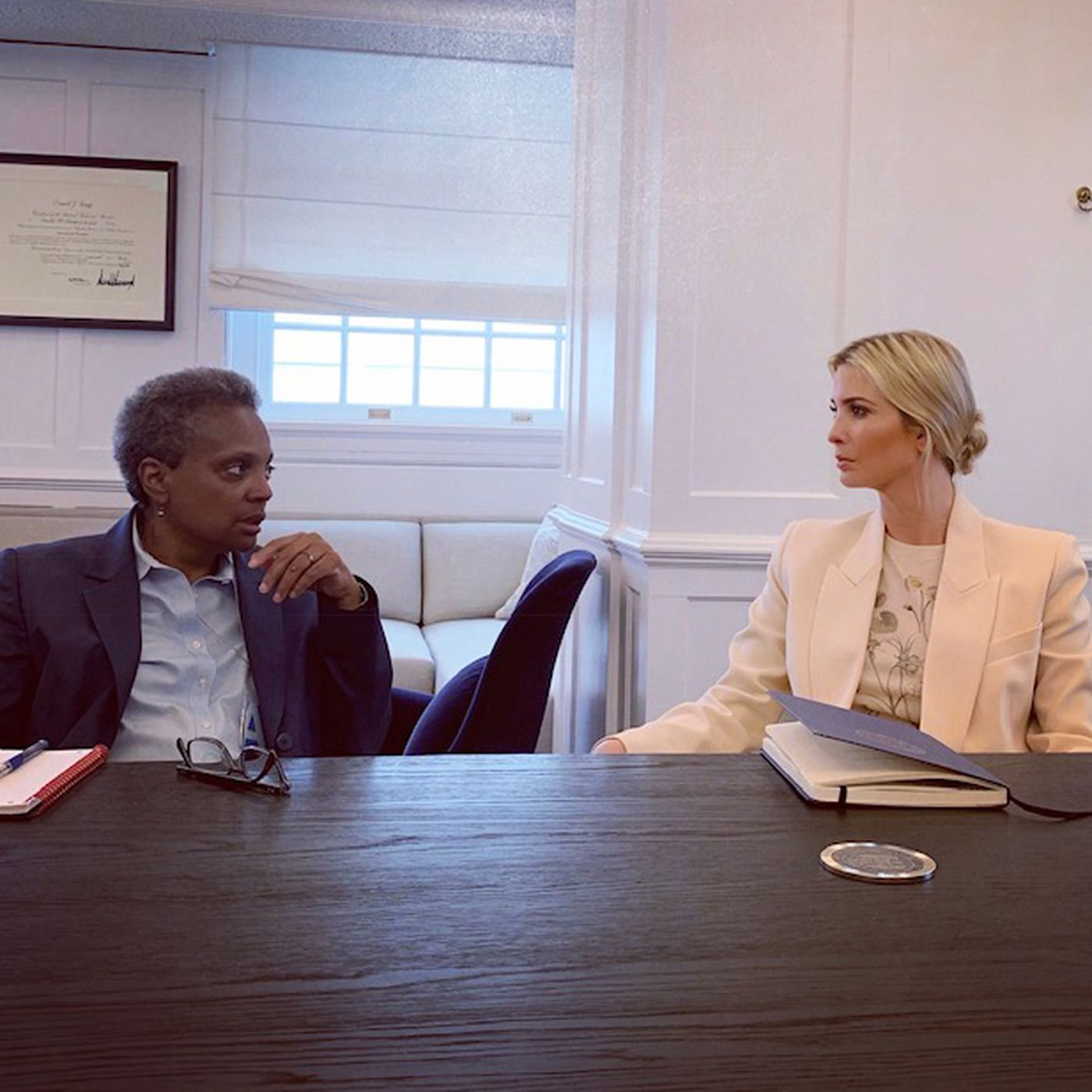 After Mayor Lightfoot Explodes Over Ivanka Trump Tweet First Daughter Tries To Keep Relationship Intact Seeks Event In Chicago Chicago Sun Times
