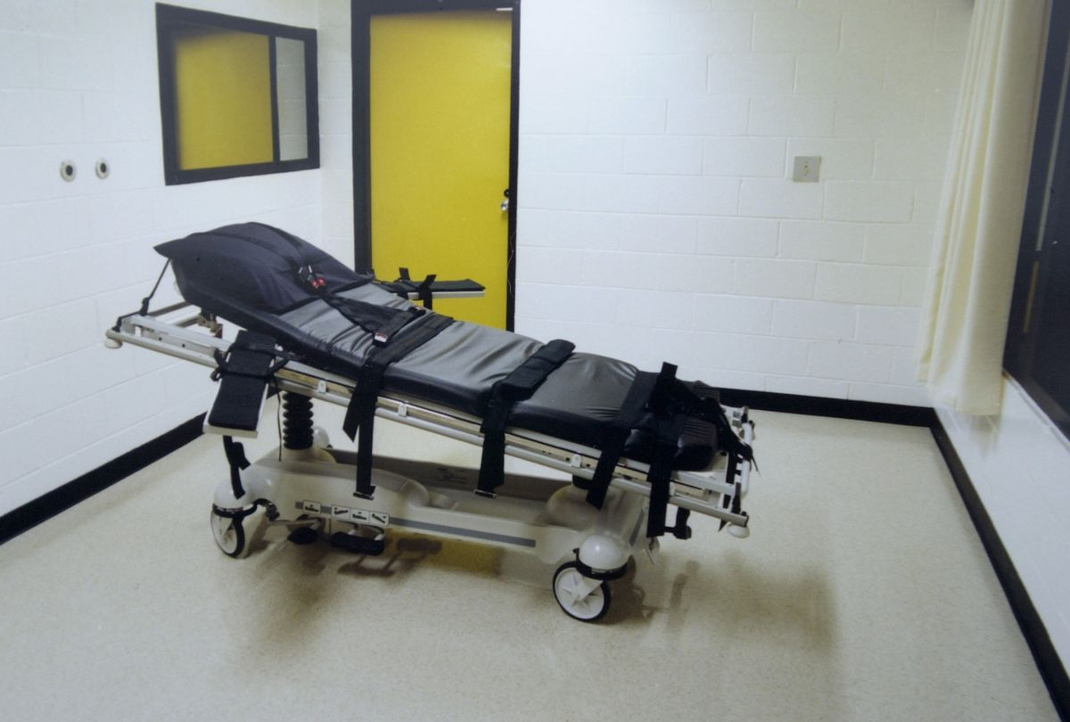An execution chamber in Georgia.