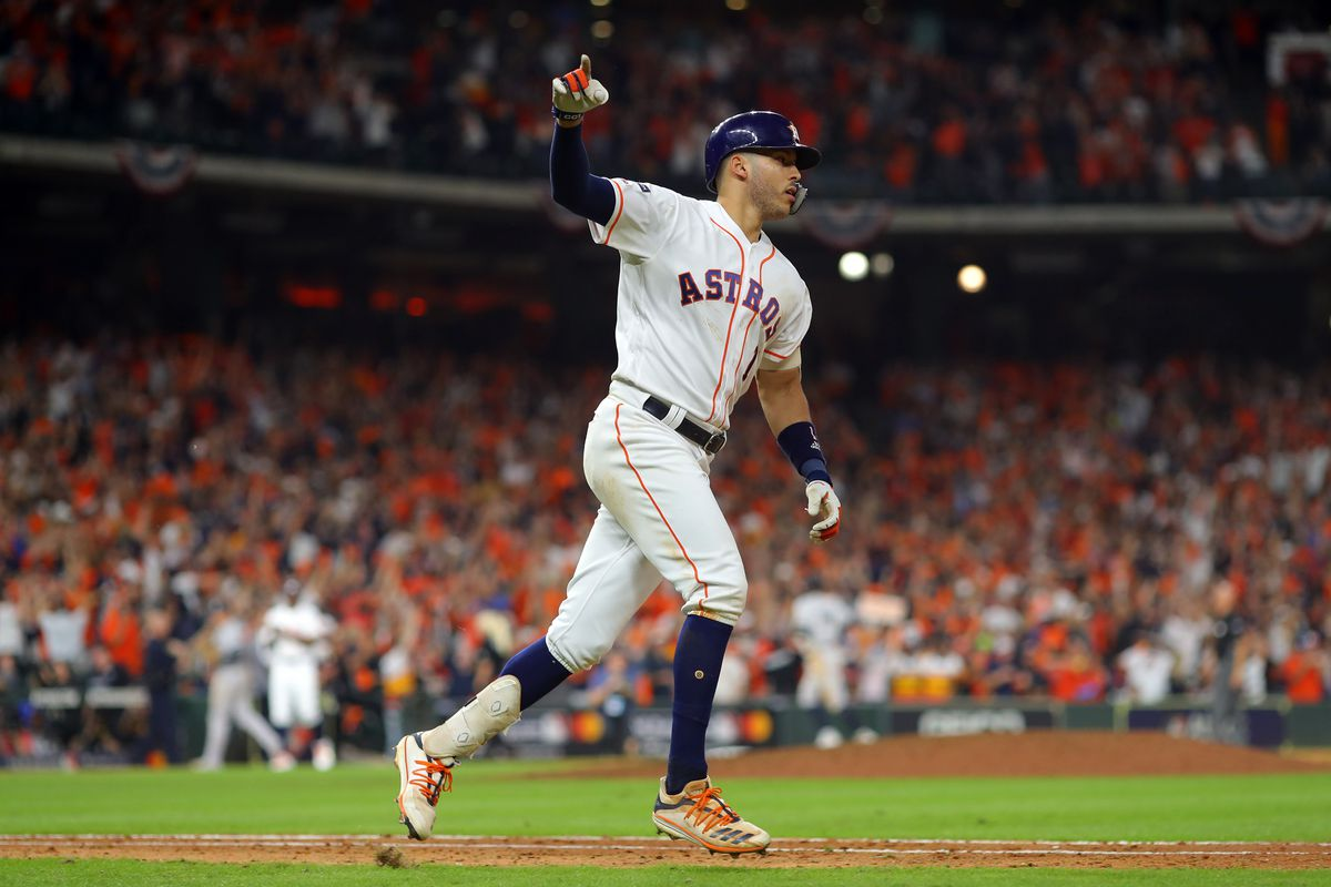 2019 ALCS Game 2 - New York Yankees v. Houston Astros