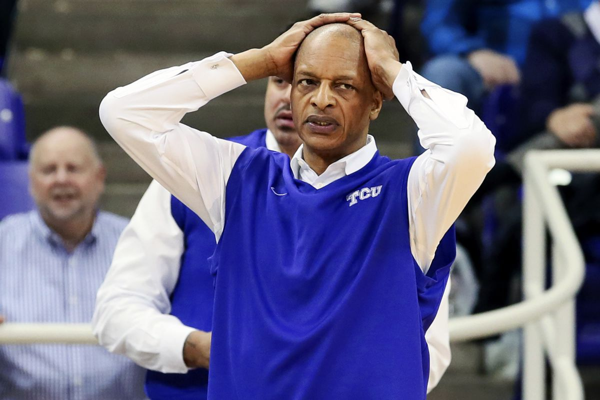 Trent Johnson actually had hair before he saw TCU at the free throw line
