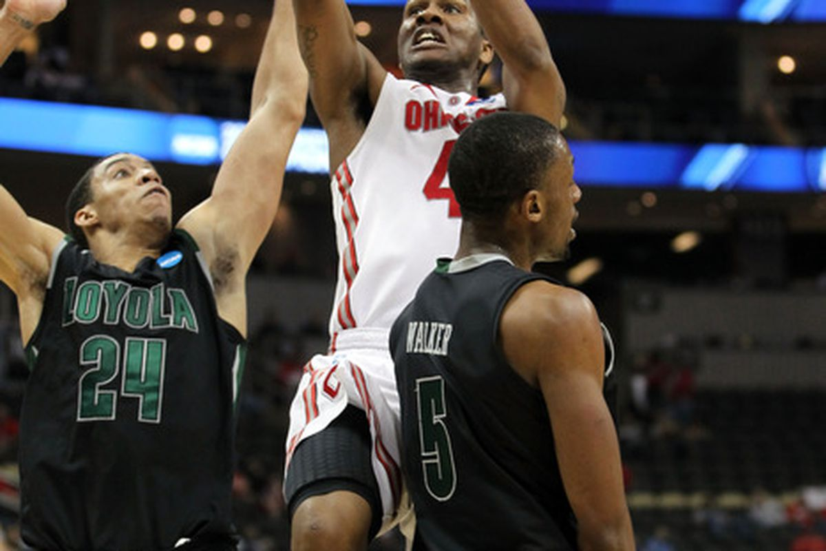 Ohio State as well as Indiana and Wisconsin did a good job avoiding the upset bug on Thursday. (Photo by Gregory Shamus/Getty Images)
