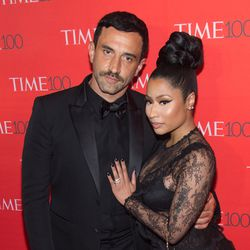 Riccardo Tisci and Nicki Minaj