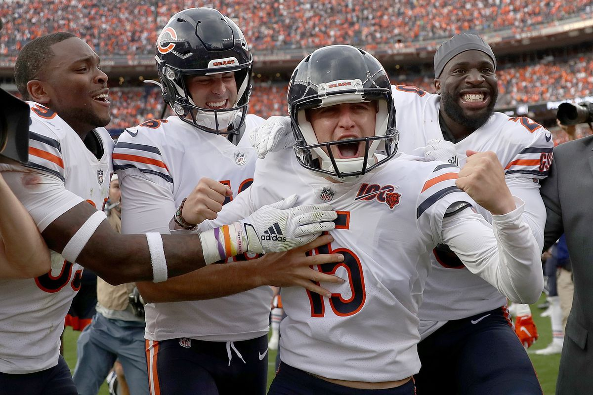 Celebration, concern after Bears win wild game over Broncos