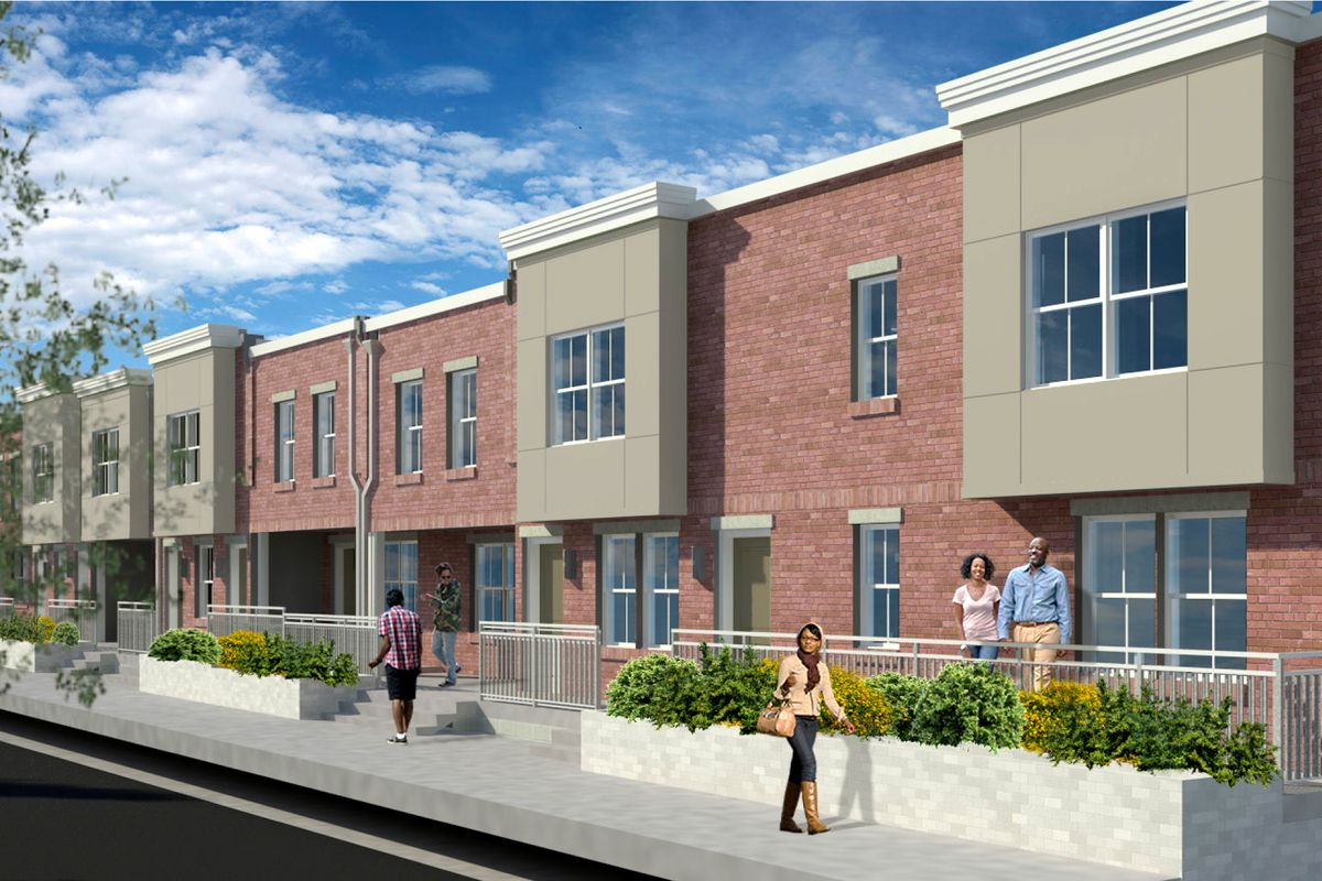 philly breaks ground on 55 affordable strawberry mansion apartments