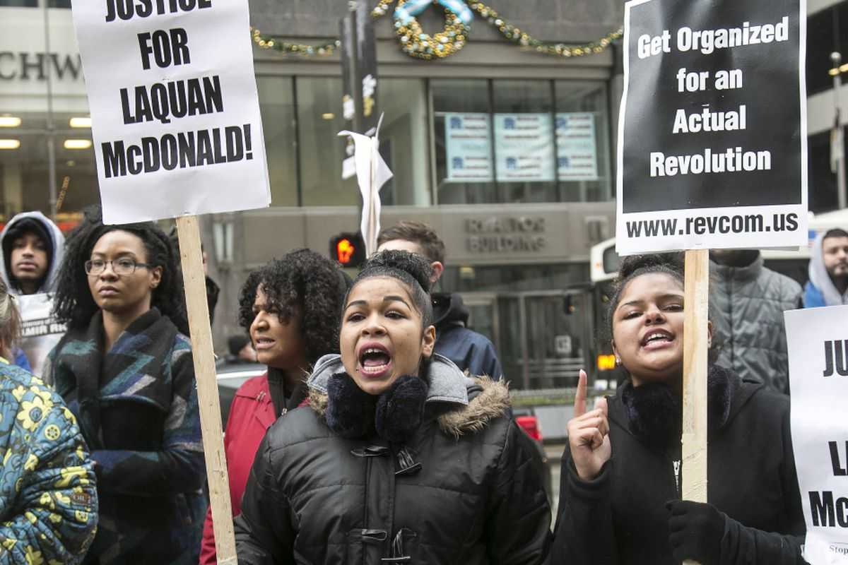 Black Friday Protest Planned Along Michigan Avenue Chicago Sun Times