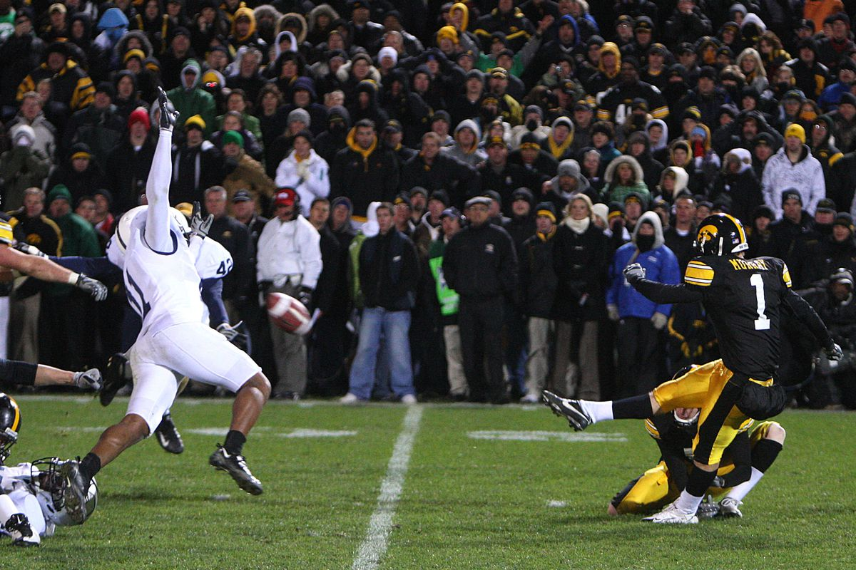 Football - NCAA - Penn State vs. Iowa