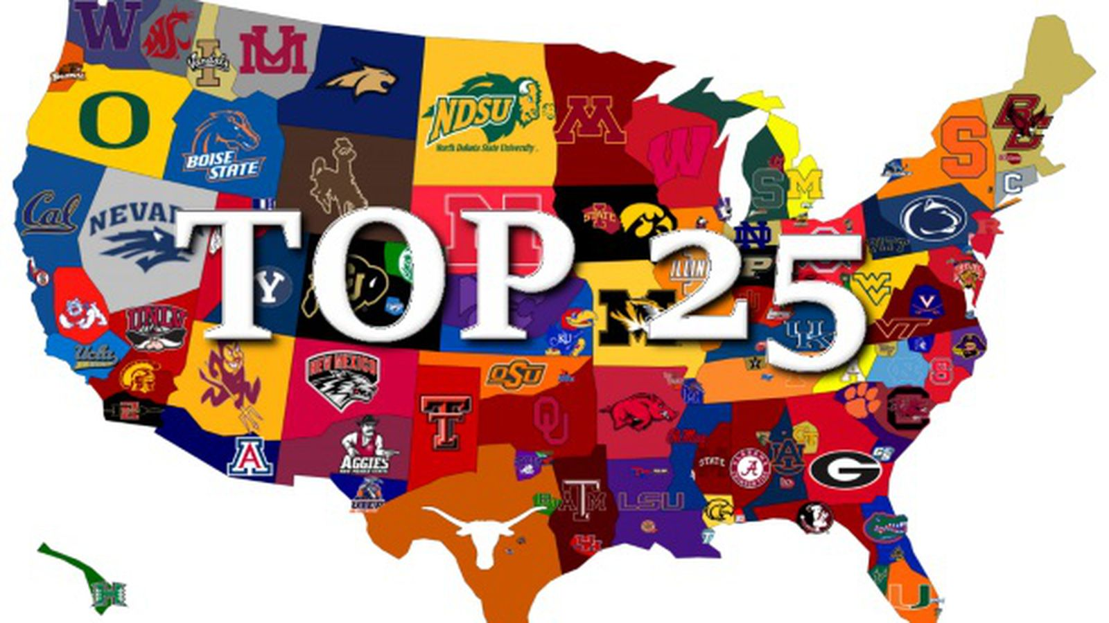 top 25 college football schedule latest college football news