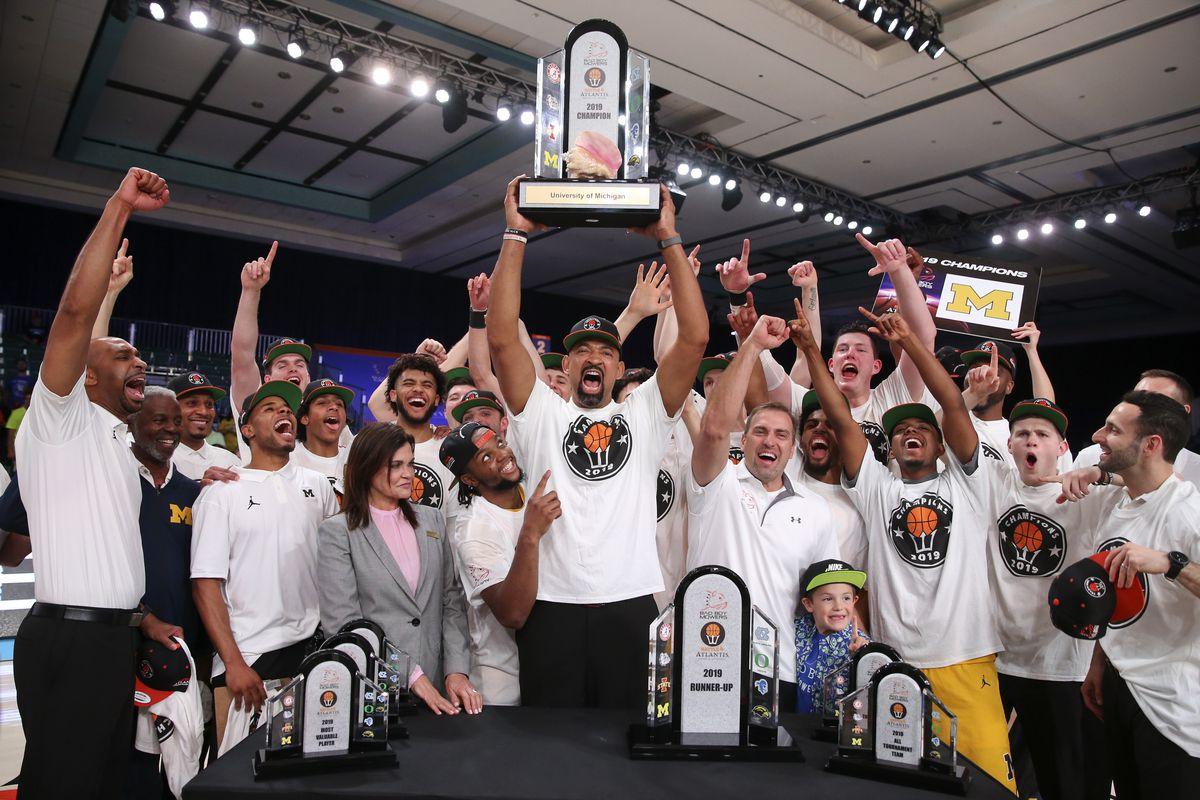NCAA Basketball: Battle 4 Atlantis Championship-Gonzaga vs Michigan
