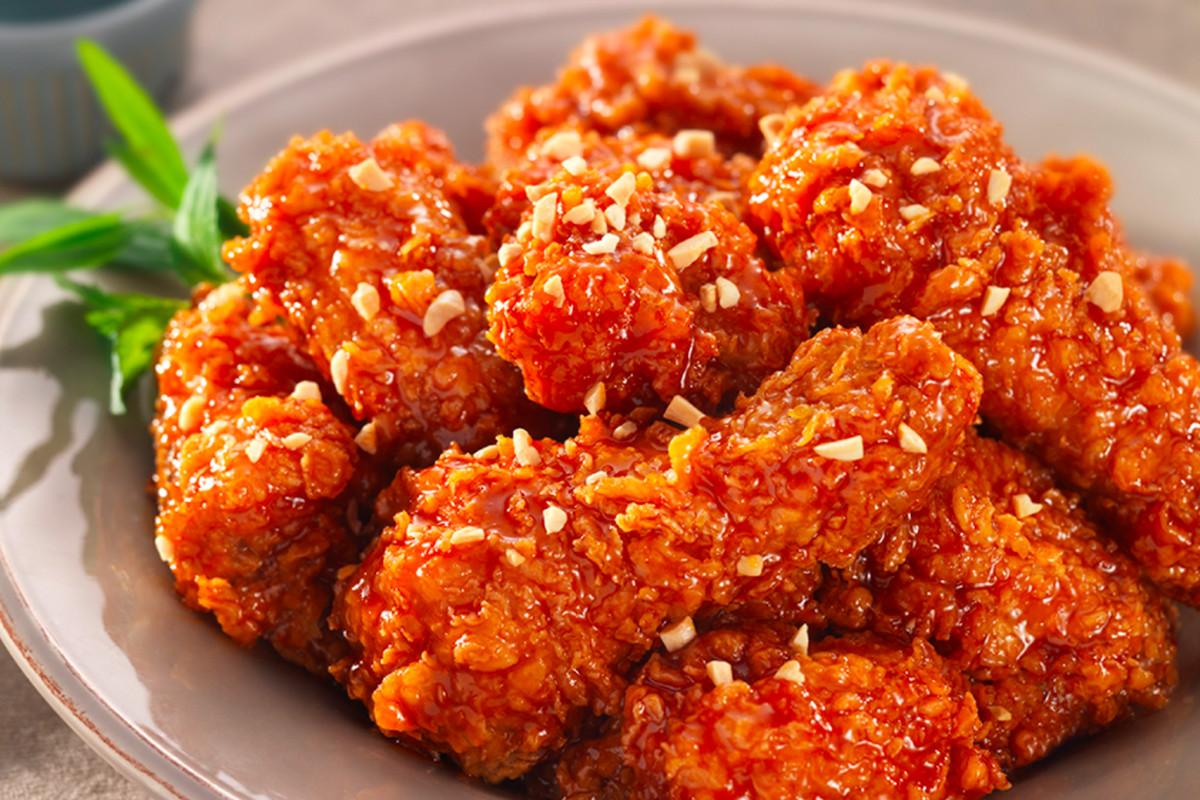 Korean fried chicken from BB.Q Chicken