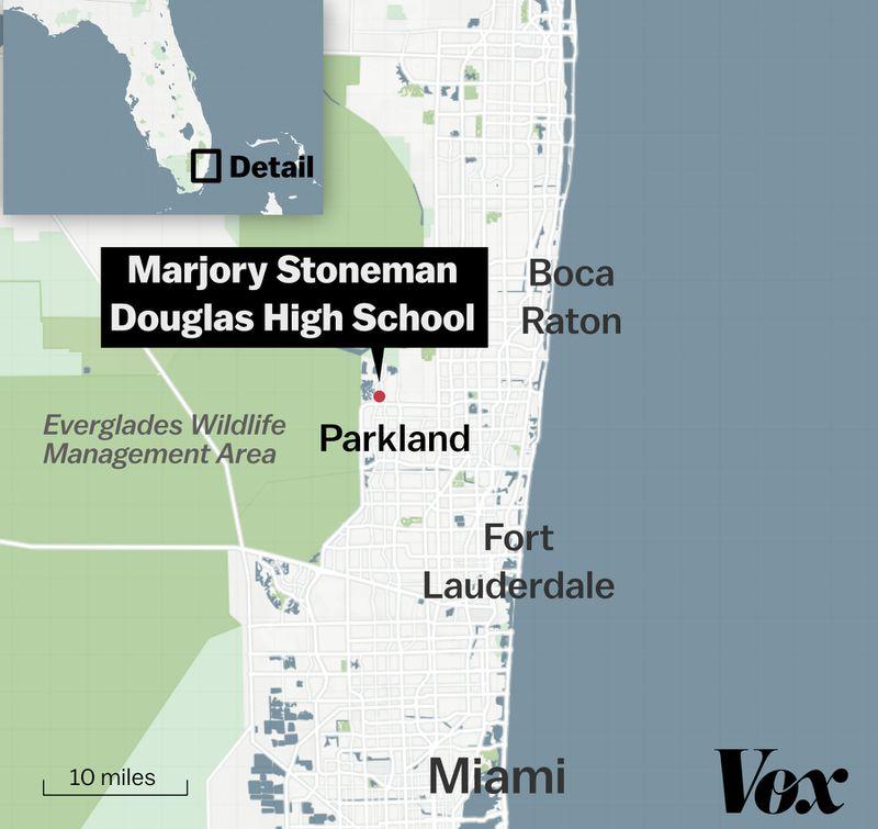 Florida High School Shooting Survivor Hid From Crazed: Marjory Stoneman Douglas High School Shooting In Florida
