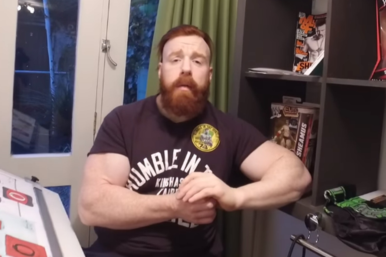News Sheamus Says Hes Been Dealing With A Neck Issue For The Last