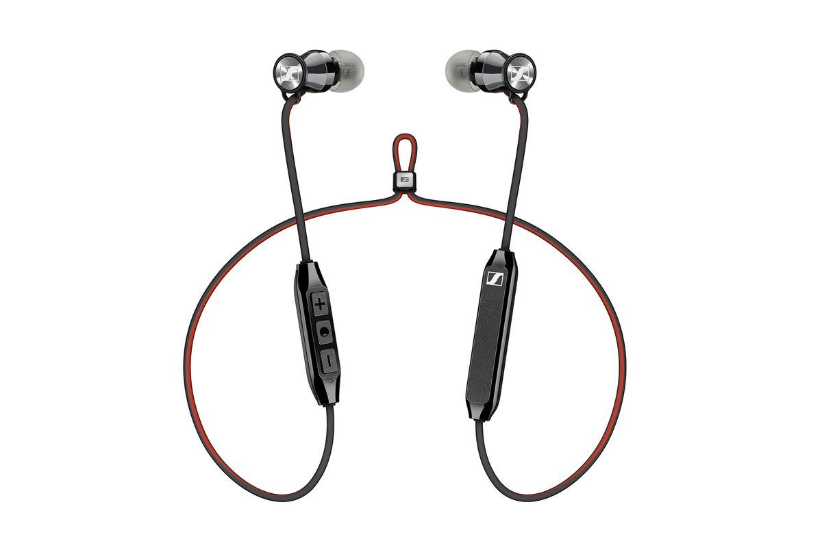 sennheiser s wireless earbuds slim down in a big way with