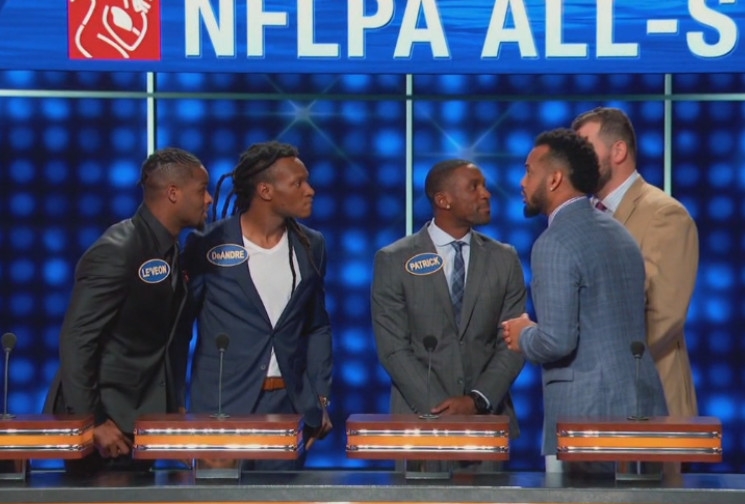 Recap of Joe Thomas' performance on Celebrity Family Feud - Dawgs By