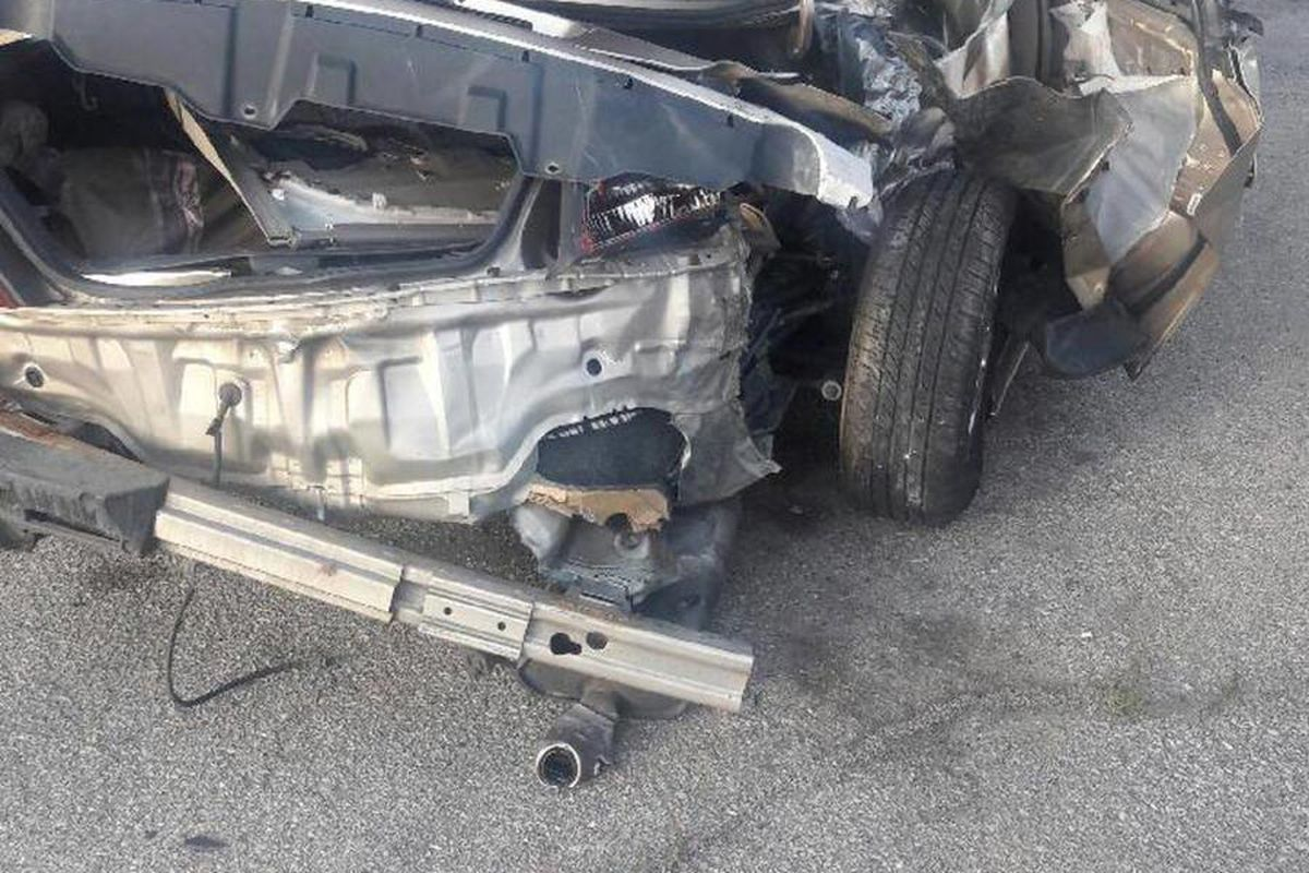 A 6-year-old girl was killed and two other people were injured Saturday afternoon when a car veered off the road and crashed into a parked vehicle in Provo, police said.
