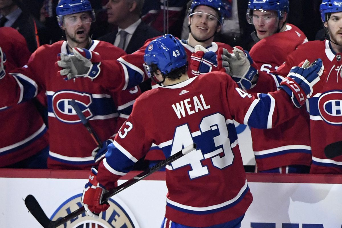 Powerless: The squeaky Weal is the grease for Canadiens' power play